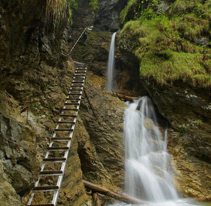 Suchá Belá - Misové vodopády