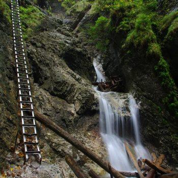 Suchá Belá - Okinekový vodopád